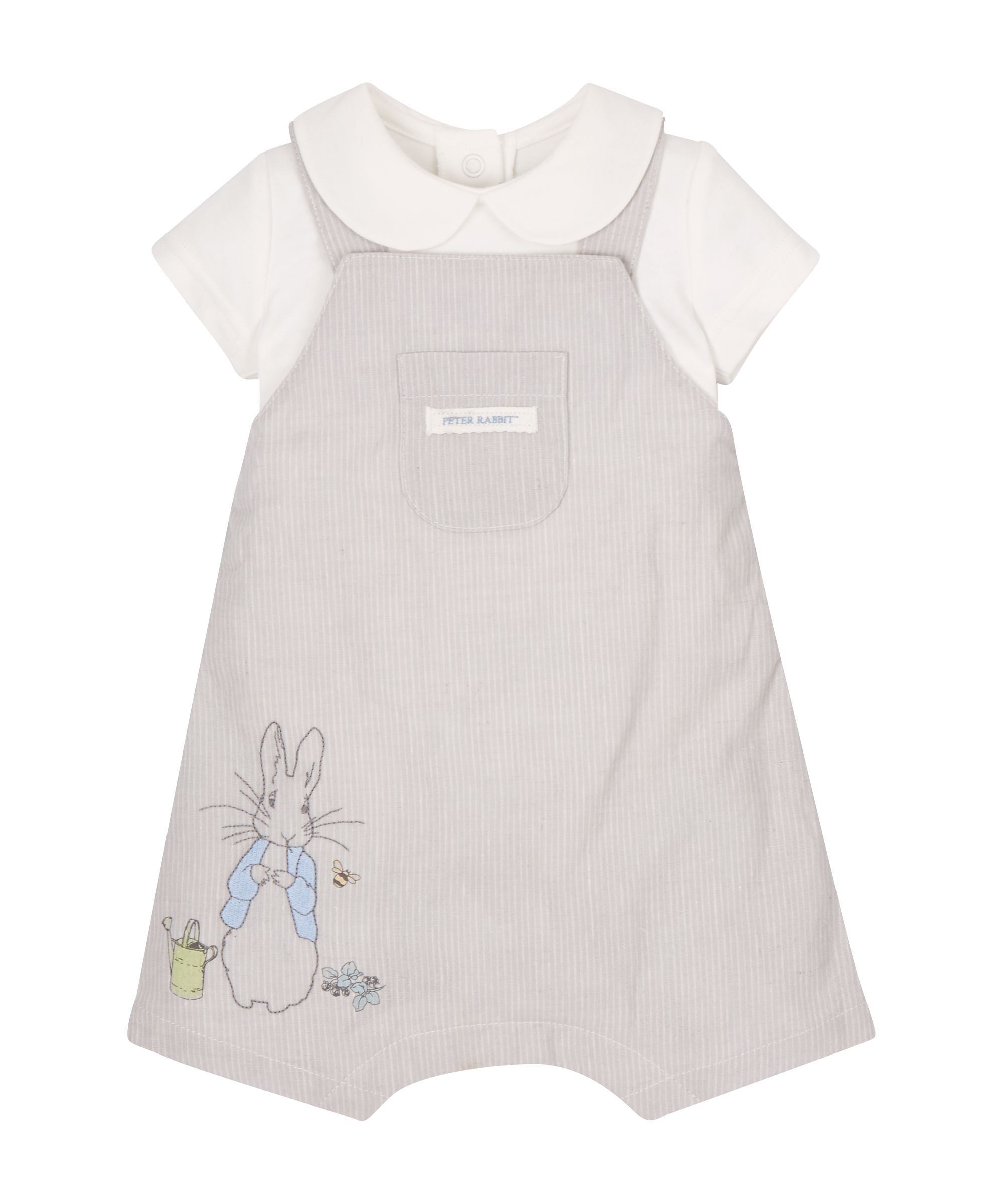af118afce Peter Rabbit Dungarees and Bodysuit - Mothercare 16£