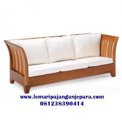 Bangku Sofa Jati Minimalis Set Sofa Desain Furnitur Desain Interior