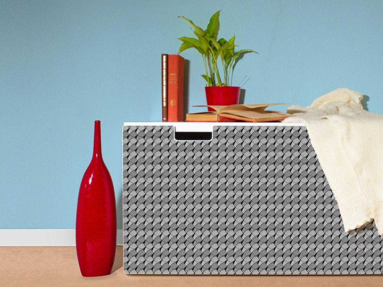Amazon.de: yourdea Möbelaufkleber für IKEA Stuva Kommode mit Motiv: Web Muster