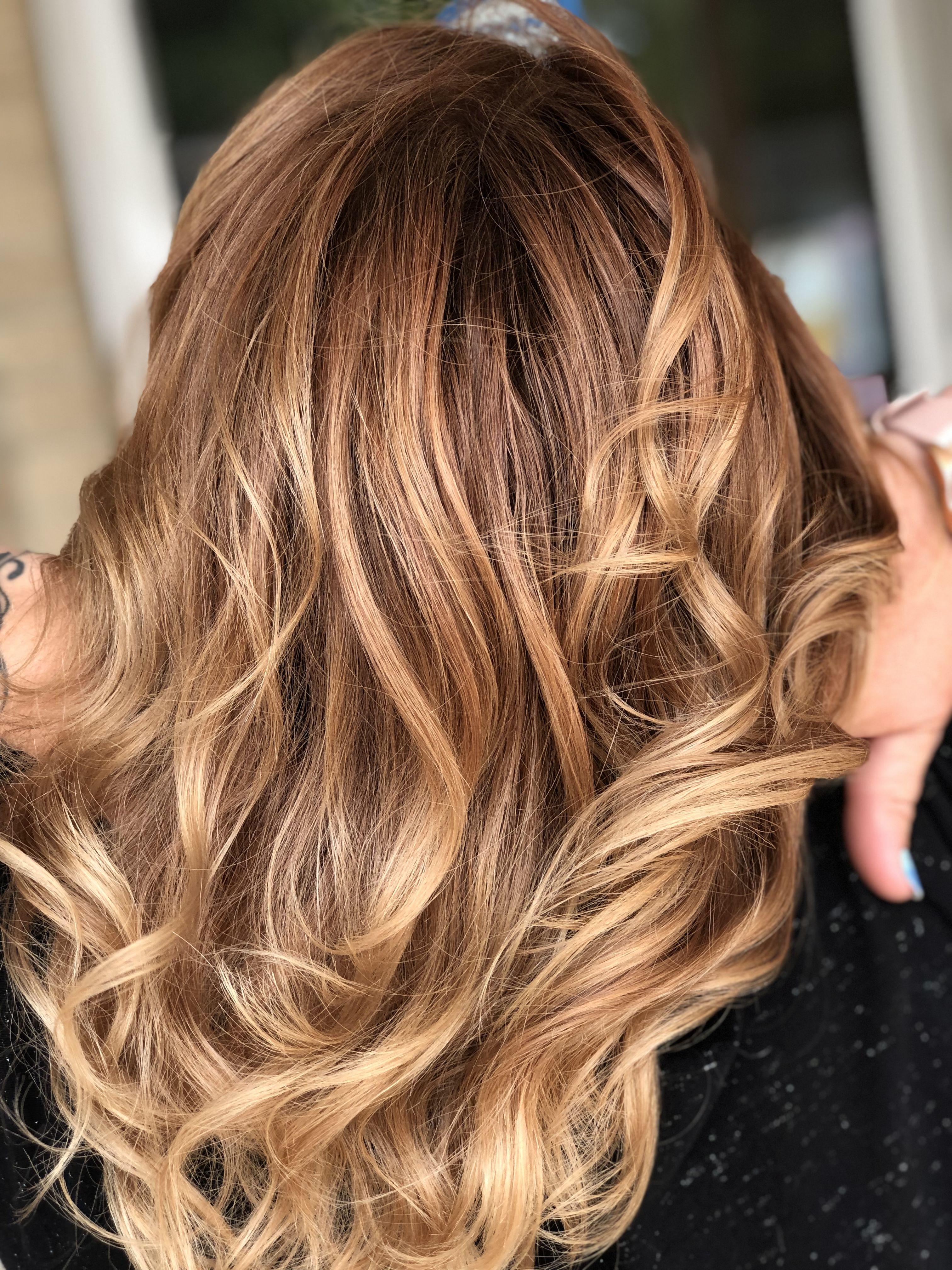 Copper Hair By Ashley Hair Copper Blonde Balayage Blonde Balayage