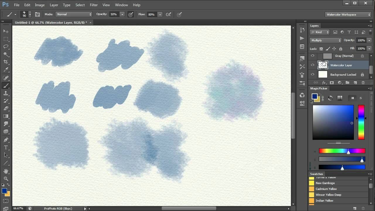 Painting With Brushes In Photoshop By Draw With Jazza 22 755 Views