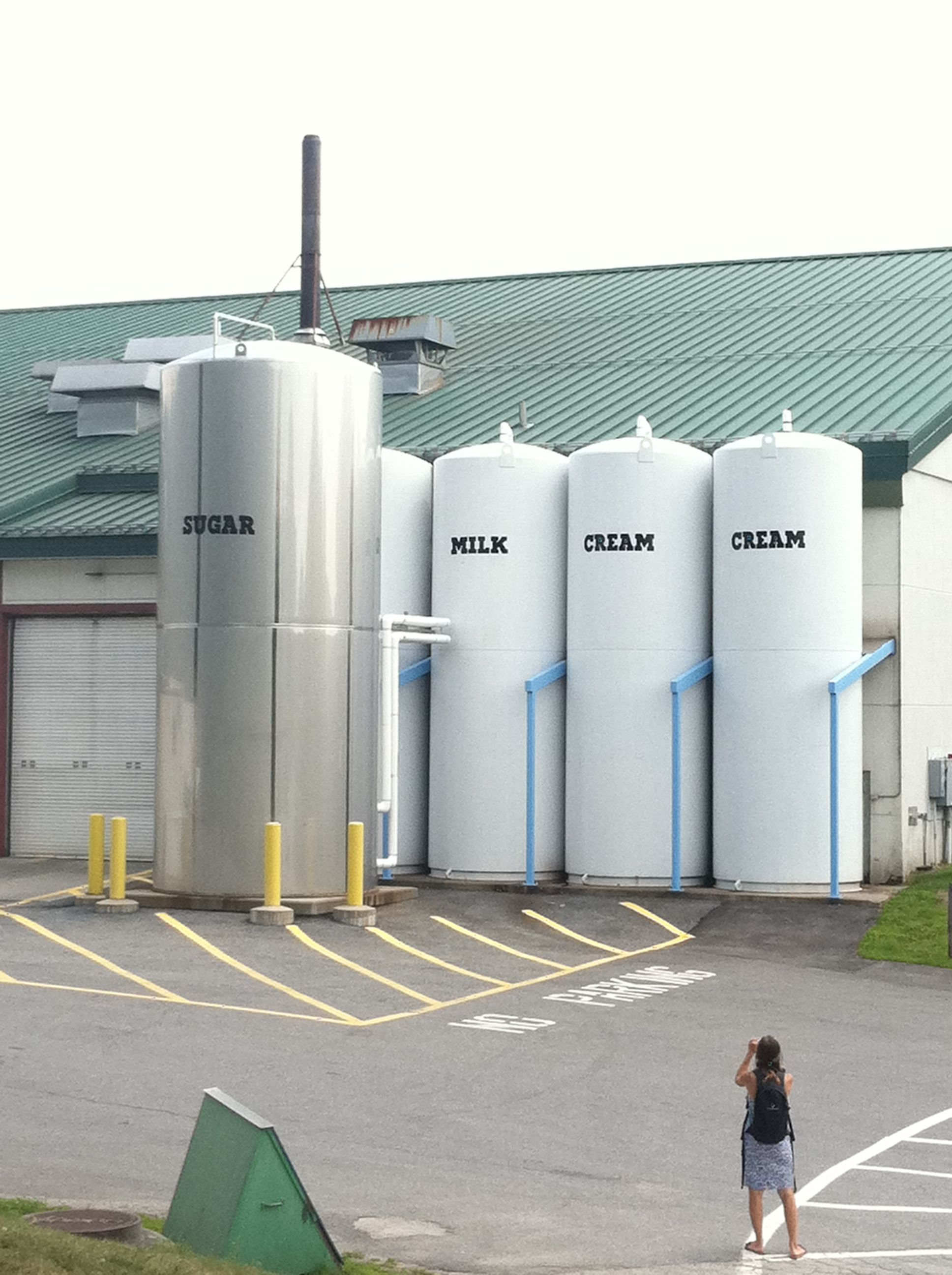 Ben and Jerry's Factory - near Stowe, VT