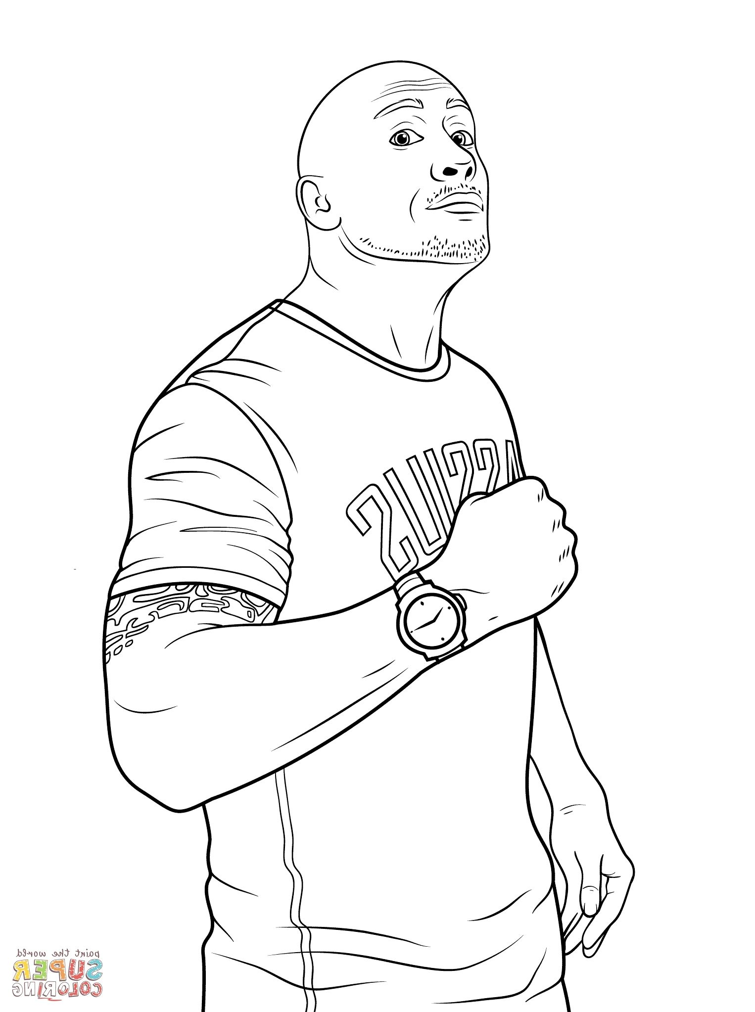 Wwe Coloring Wwe Coloring Pages Coloring Pages Sports Coloring Pages