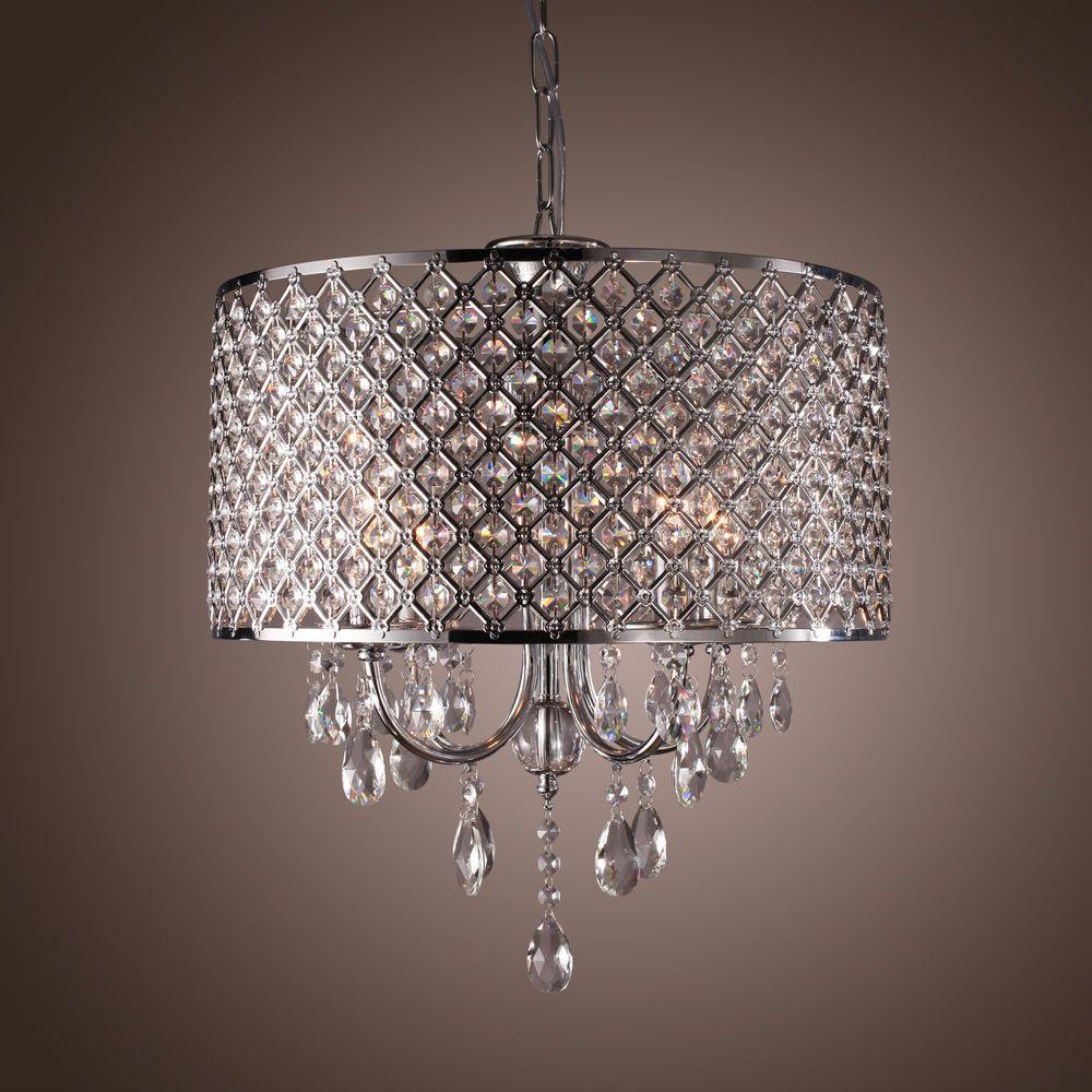 Modern Pendant Ceiling Light Crystal Lighting Dining Living Room Lamp Chandelier Chandelier Lighting Fixtures Crystal Lighting Crystal Pendant Lighting