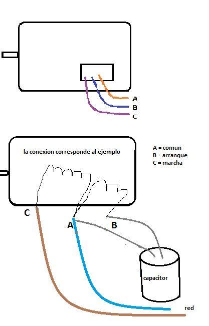 solucionado  diagrama para conectar capacitor
