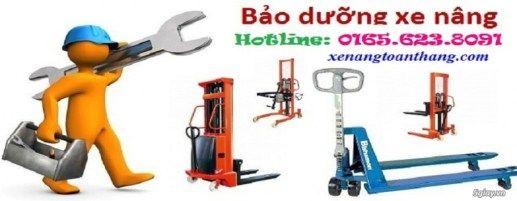 Chuyên cung cấp dịch vụ bảo trì và sửa chữa xe nâng các loại