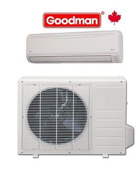 Goodman 12 000 Btu Msh123e15ax Mc Ductless Mini Split System