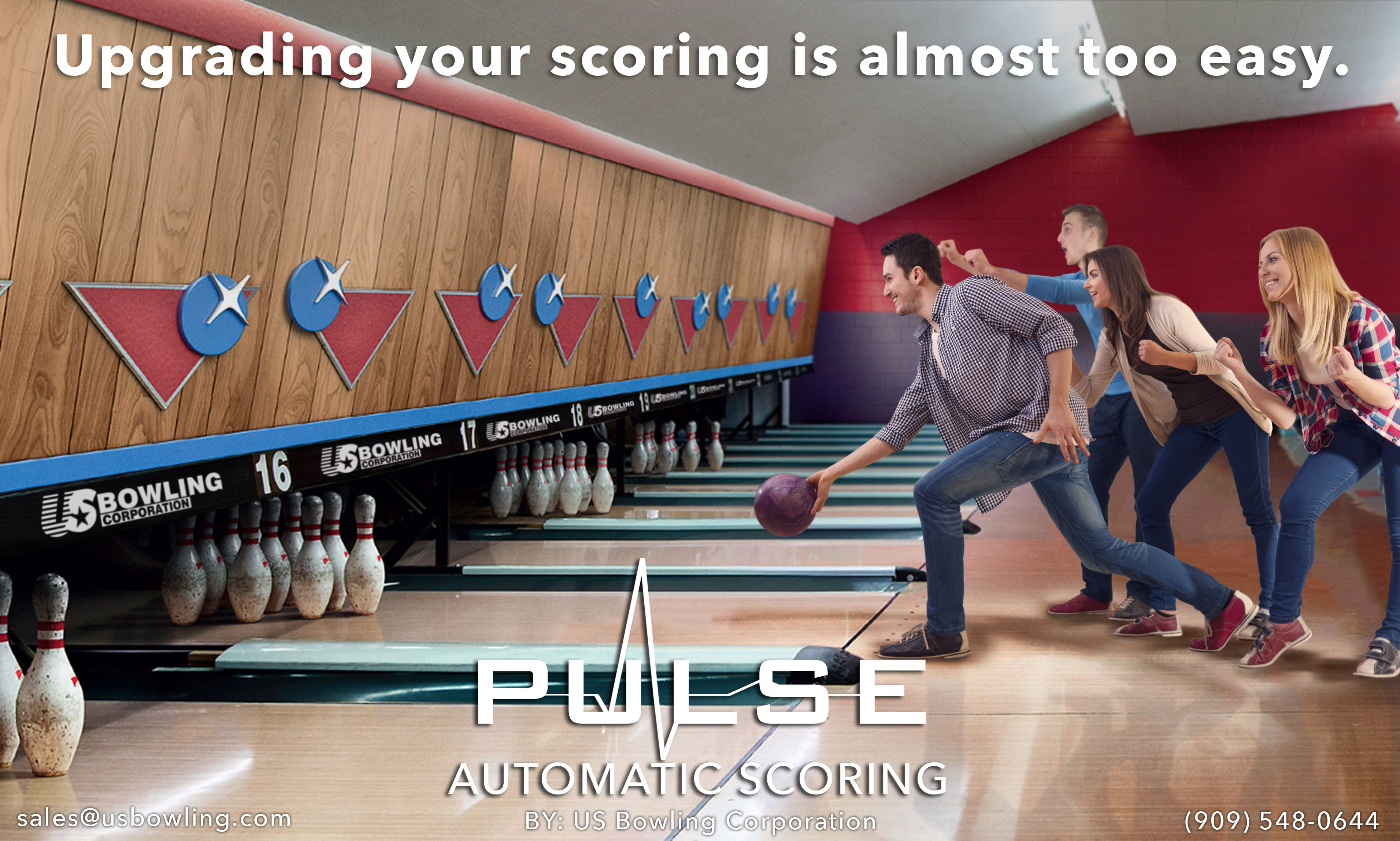 Pin By Us Bowling Corporation On Automatic Scoring Scoring System Bowling System