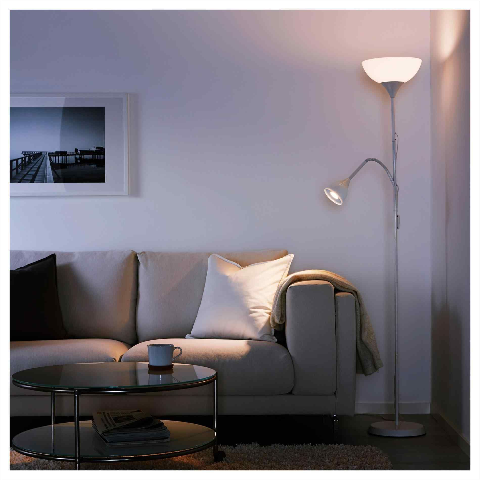 2 x Genuine Ikea HOLMO Floor L& Soft Smooth Relaxing Living Room // Bedroom Standing Light & 2 x Genuine Ikea HOLMO Floor Lamp Soft Smooth Relaxing Living Room ...