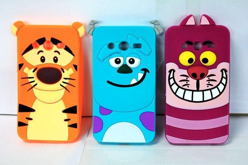 Encontrar Más Fundas para Móvil Información acerca de Para Samsung Galaxy Core II 2 G355H cubierta Monsters 3D tigre Animal de la historieta Sulley Marie Alice gato perro Slinky caja del teléfono del silicón, alta calidad Fundas para Móvil de Z&W Group Trading en Aliexpress.com