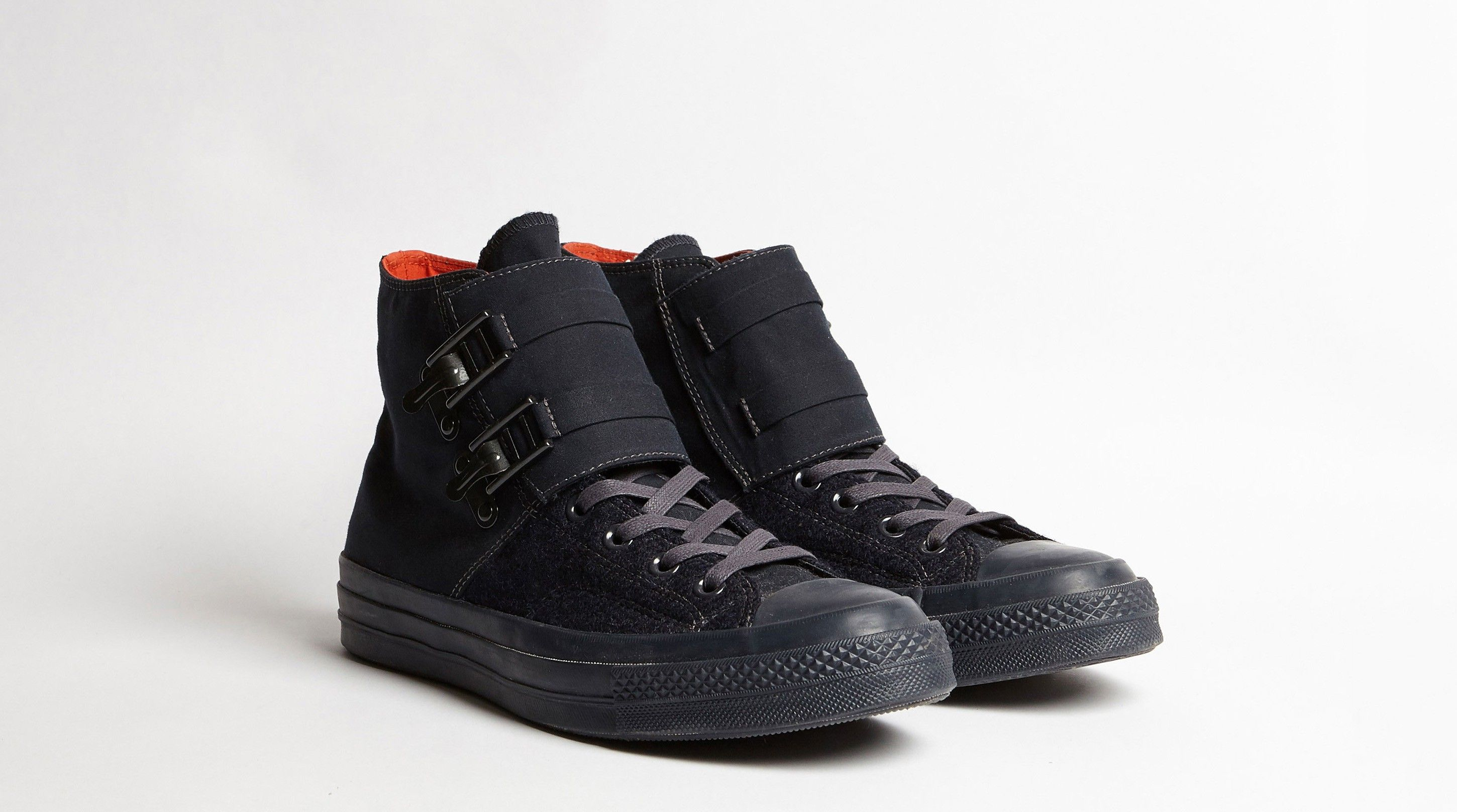 CAMERAMAN CONVERSE BLACK NAVY - By Nigel Cabourn