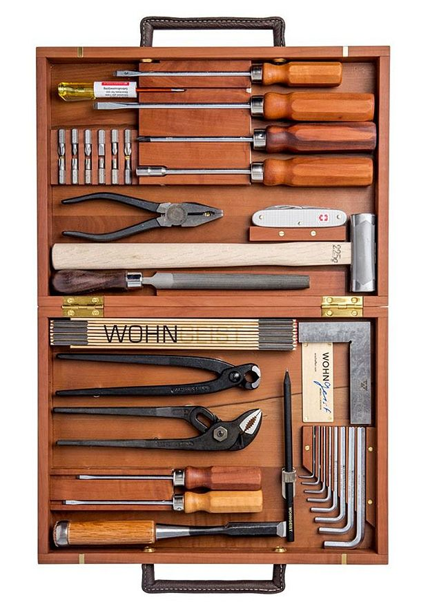 Wohngeist Tool Set This Classic 24 Piece German Tool Set Comes