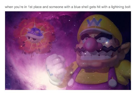 I Laughed So Hard At This Why Why Why Video Games Funny Mario Kart Memes Super Mario Bros