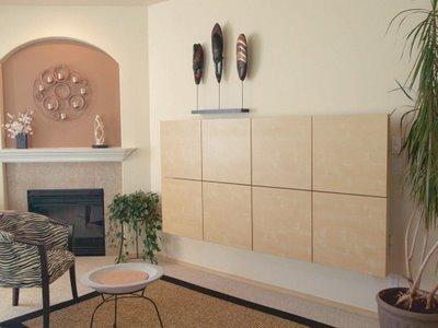 Cama plegable ikea en pinterest planos de planta en casa - Cama plegable pared ...