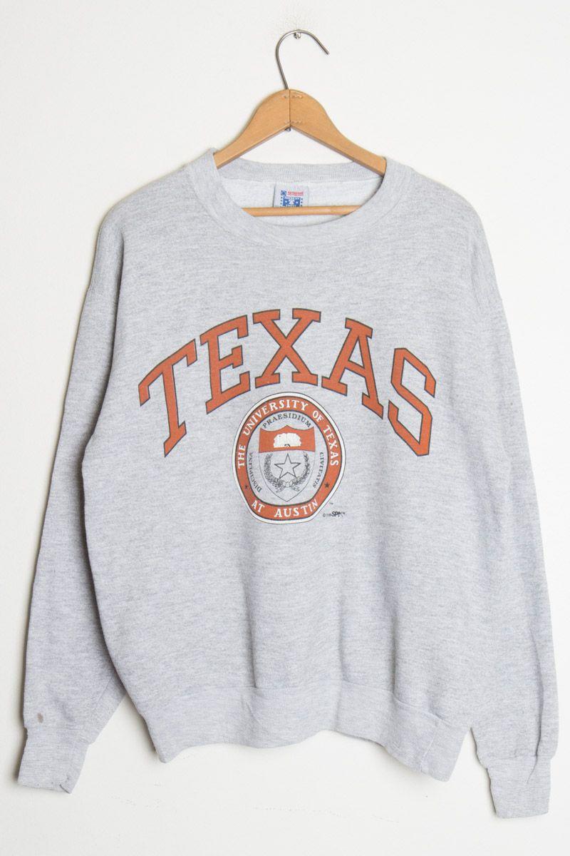 6fbcec80f Vintage Texas University Sweatshirt in 2019 | Clothing | Vintage ...