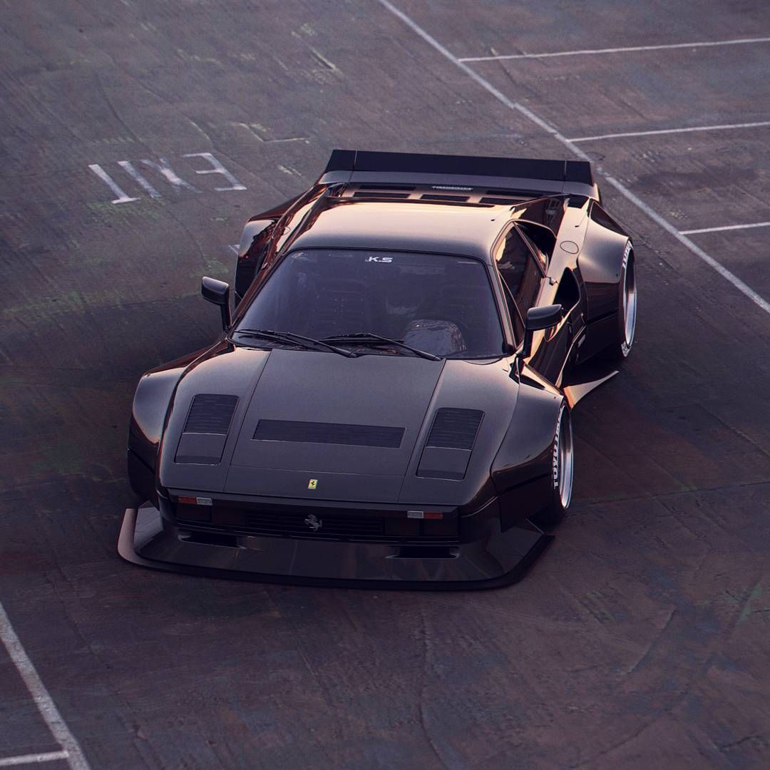 Ferrari Wide Body. Travel In Style
