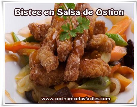 salsa de ostion receta
