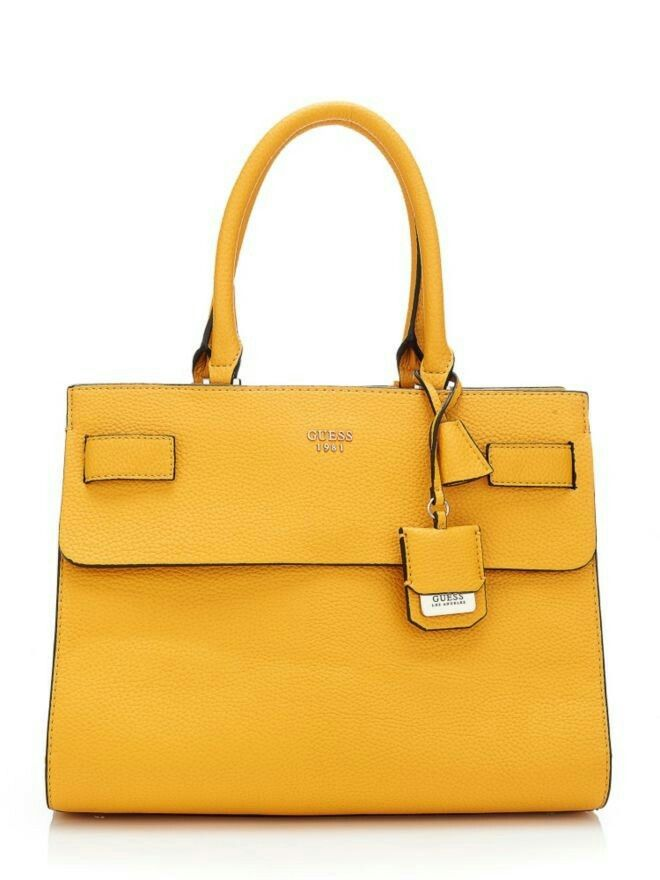 37360a3b4b OMG!!! I want a yellow Guess bag so much.
