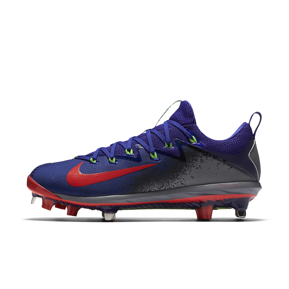 fa470ae265f1 Nike Lunar Vapor Ultrafly Elite Men s Baseball Cleats Size 11.5 (Blue) -  Clearance Sale
