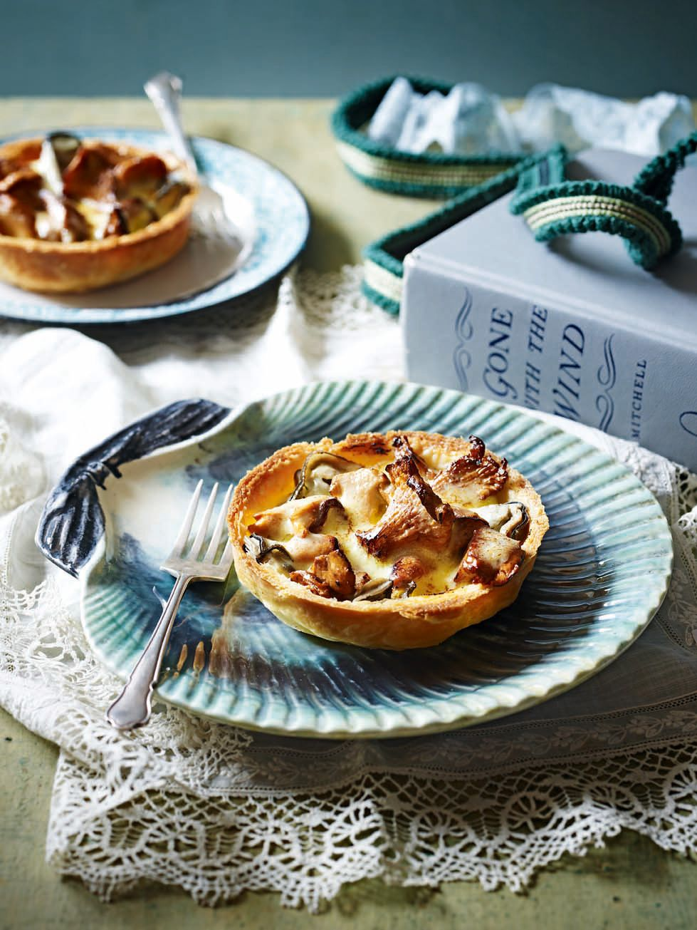 Smoked Haddock, Gruyère and Saffron Tart Recipe forecasting