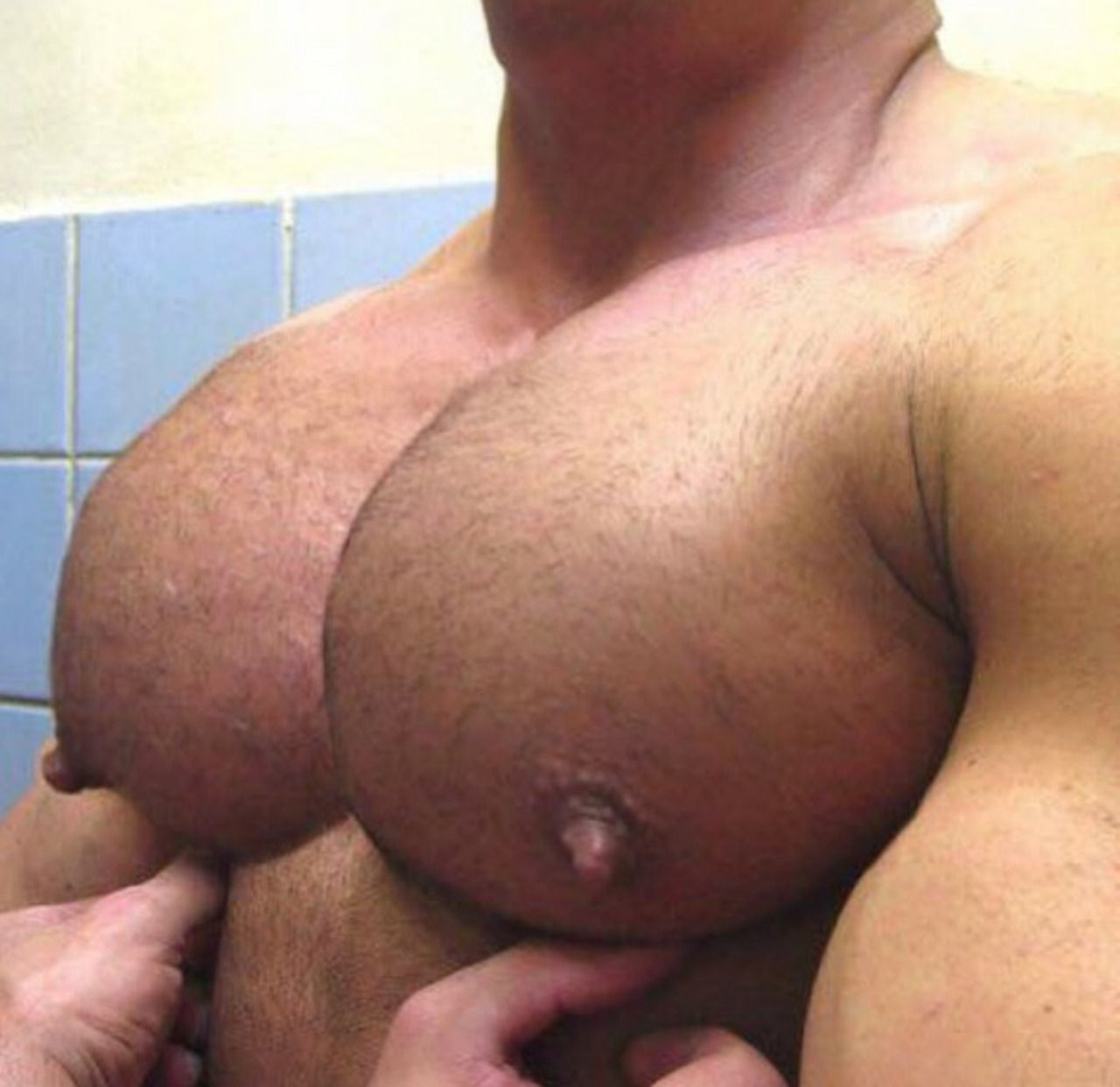 men with large areolas