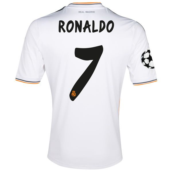 52447ab40db10 Ronaldo de Camiseta Del Real Madrid Primera Equipacion 2013 2014 ...