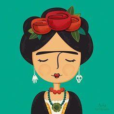 Frida Kahlo Frida Kahlo Caricatura Frida Kahlo Dibujo Y
