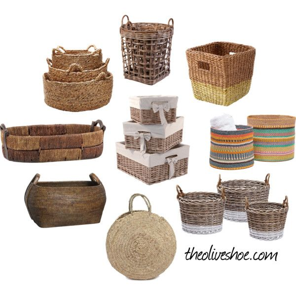 I love baskets for organizing shelves and neat storage. This weekend I worked on splitting my purses into styles - clutches, mid-sized, hobos, etc...into different containers for more efficient sto...