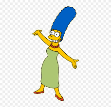The Simpsons Clipart Marge Simpson Marge Simpson Webbed Feet Png Download 548650 Pinclipart Marge Simpson Simpson Simpsons Art