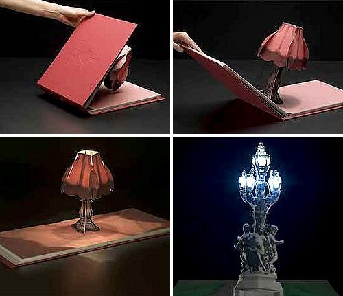 Book Of Lights Is A Light In A Book - OhGizmo!.