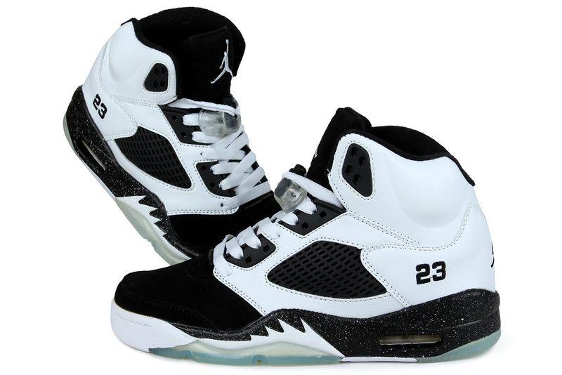 Discount Price 2014 Nike Air Jordan V 5 Retro Mens Shoes White Black hp14VIGS