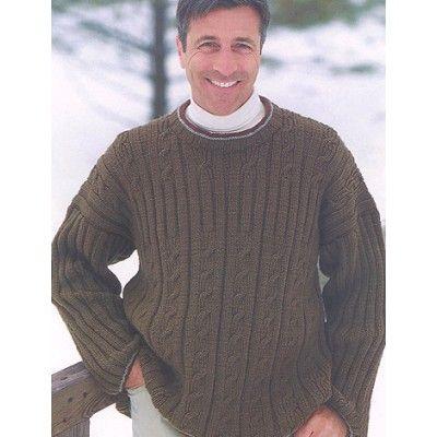 Free Easy Mens Sweater Knit Pattern Free Knit Sweater Patterns