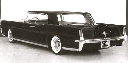 The original design proposal for the 4-door 1961 Continental