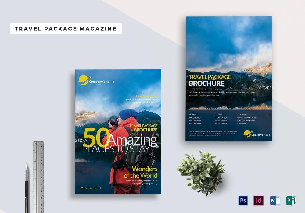 Magazine Ad Template Word Magazine Examples Magazine Template Template Design