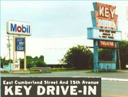 Lebanon Pa Key Drive In Movie Theater Now A Wal Mart