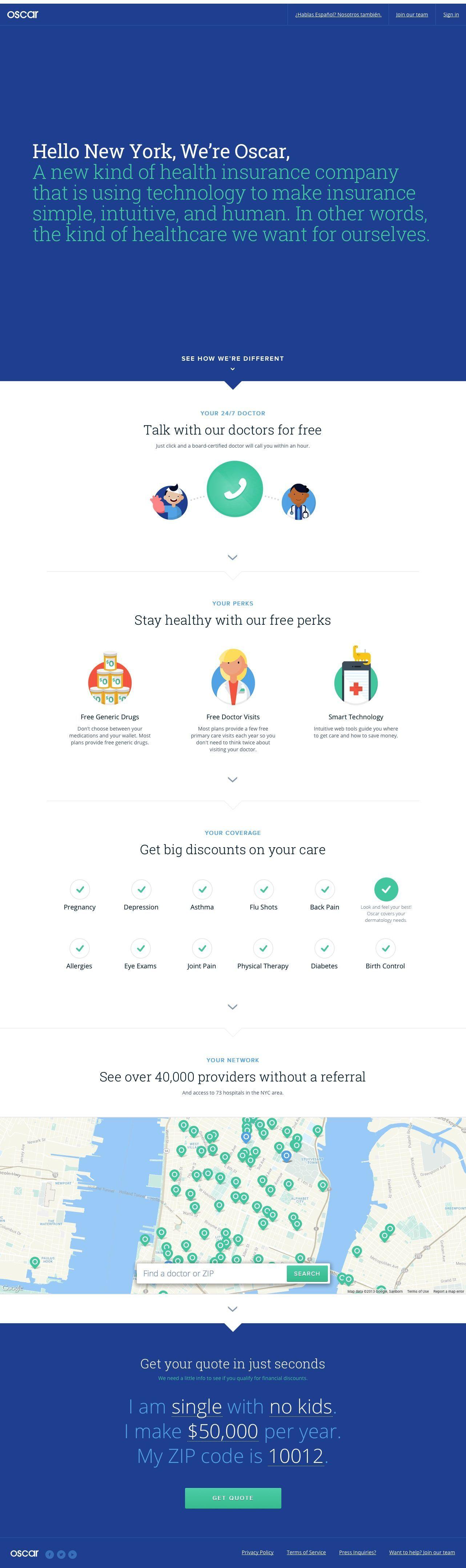 Good no cost oscar health insurance for new yorkjpg