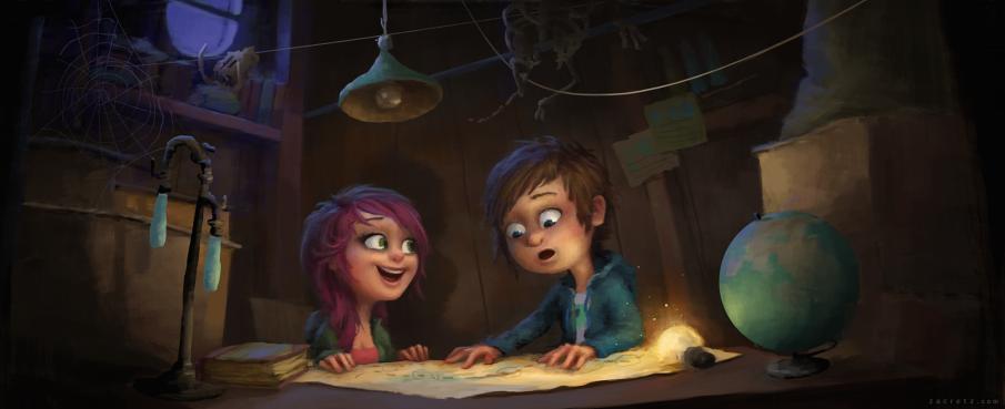Zac Retz - Character Design + Illustration