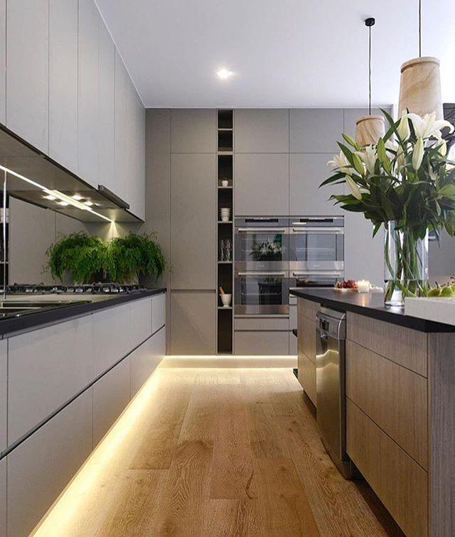 Kitchen Renovation Trends 2015 27 Ideas To Inspire: ¿Quien Dijo Gris? Via @homepiece #casaguapa