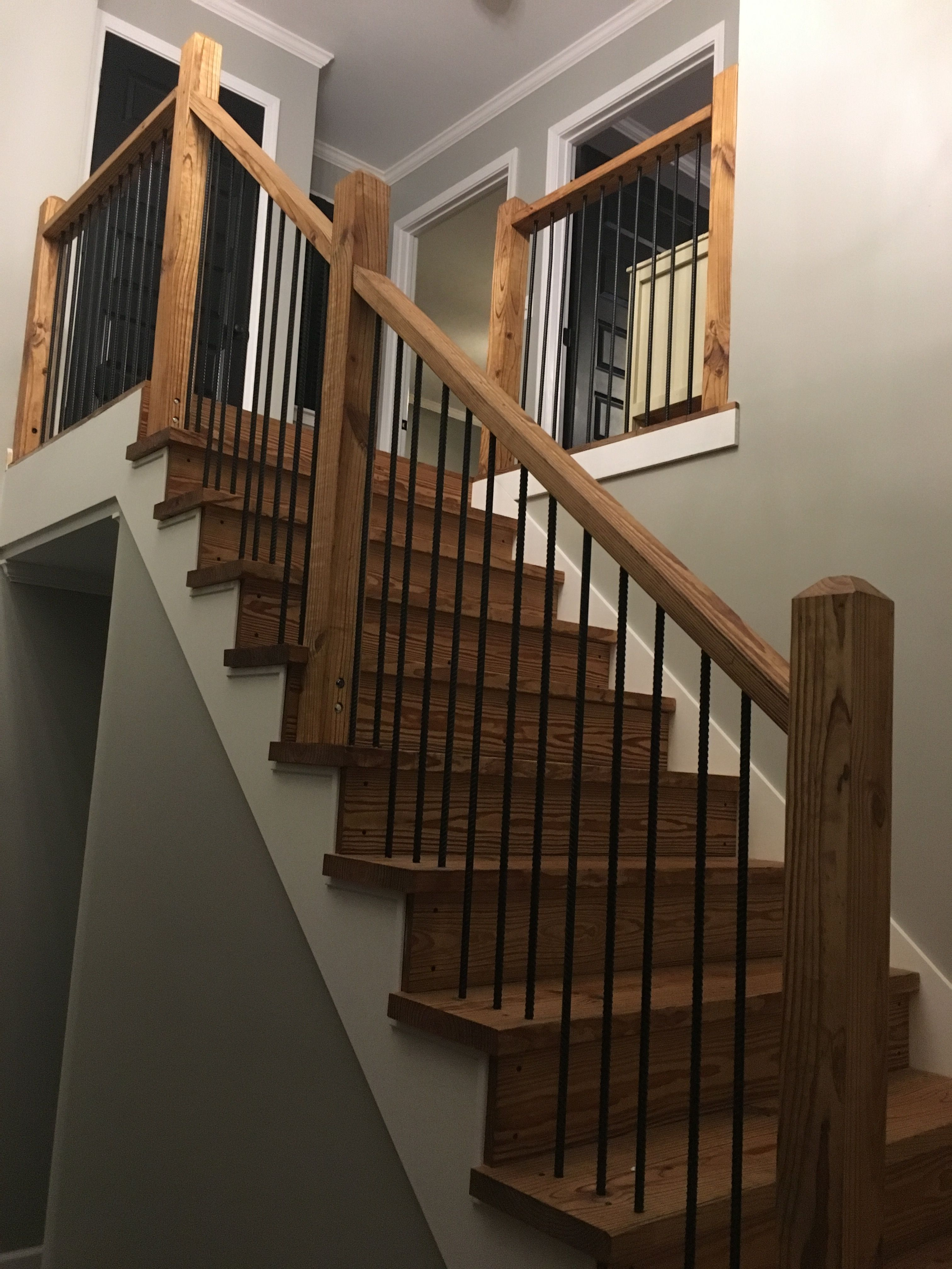 Best Stairs Rebar And Tung Oil In 2019 Wood Stairs 400 x 300