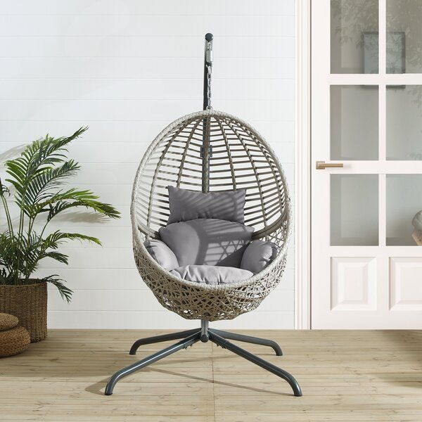 Lorelei Hanging Egg Swing Chair with Stand