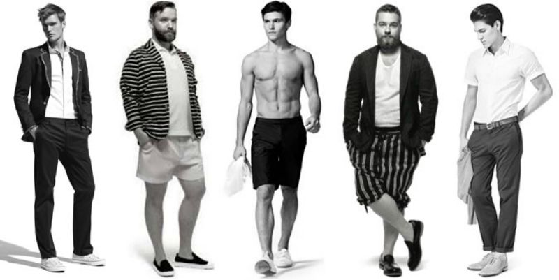 How To Dress For Your Body Shape Men S Fashion