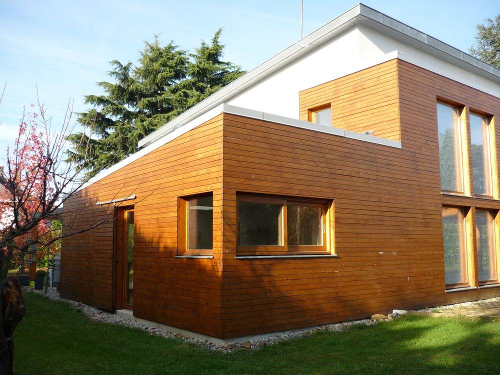 Extension du0027une maison en bois     wwwextenboisfr  Maison - prix d un garage en bois