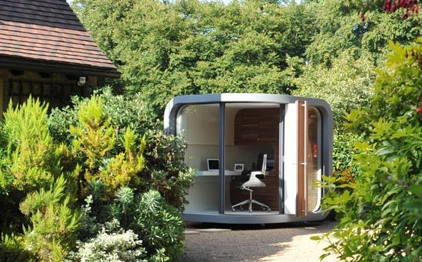 Perfect 10 Private, Tranquil And Spectacular Garden Shed Offices Amazing Design