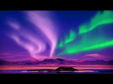 Relax Music Stunning Aurora Borealis Northern Polar Lights 2 Hours Hd 1080p Youtube Northern Lights Trips See The Northern Lights Northern Lights