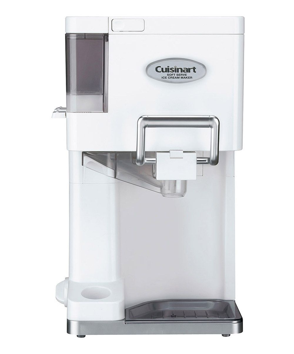Look at this Cuisinart White Soft-Serve Ice Cream Maker on #zulily today!