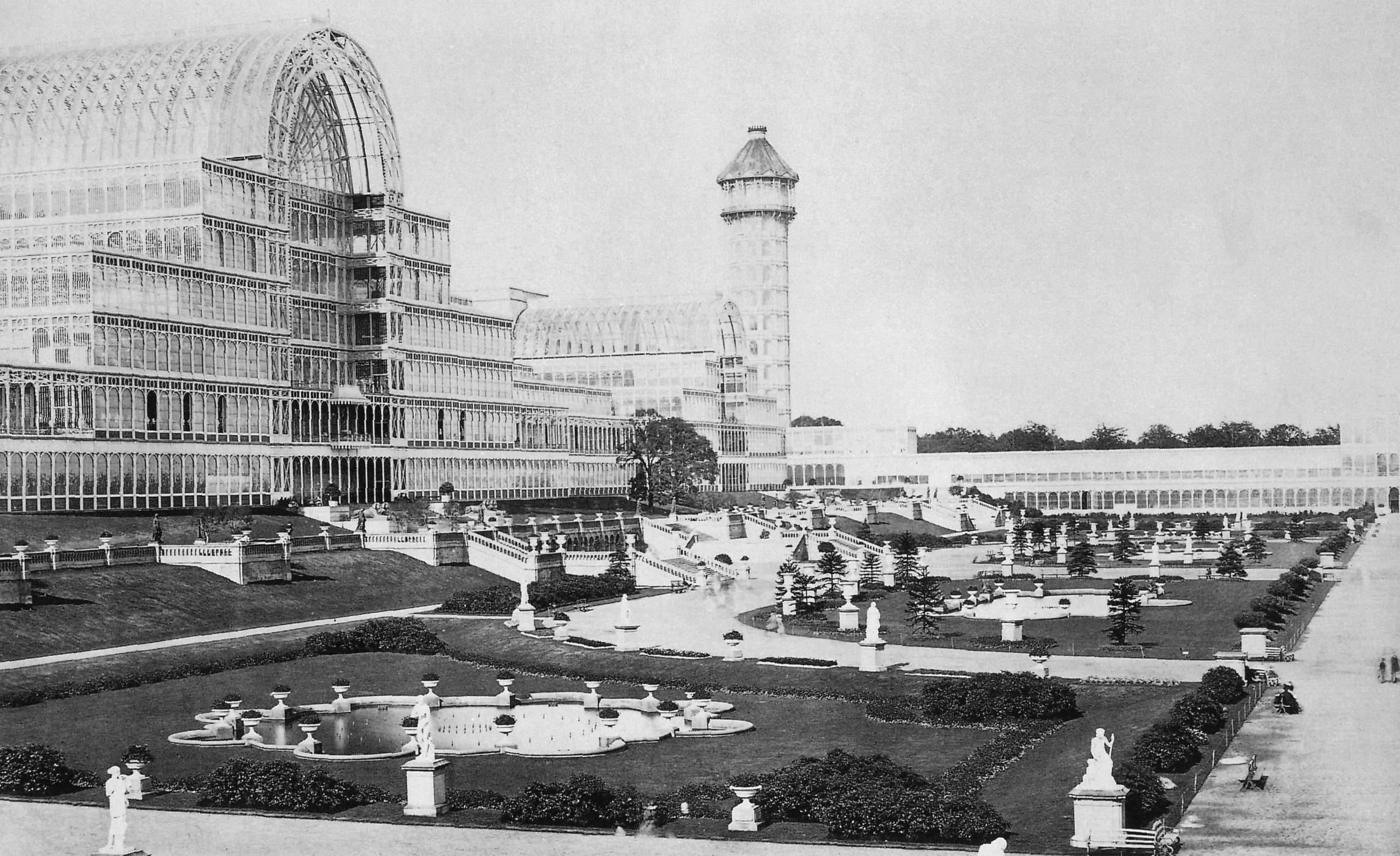 クリスタル・パレス(水晶宮) 1851年 第1回ロンドン万国博覧会の会場 ...