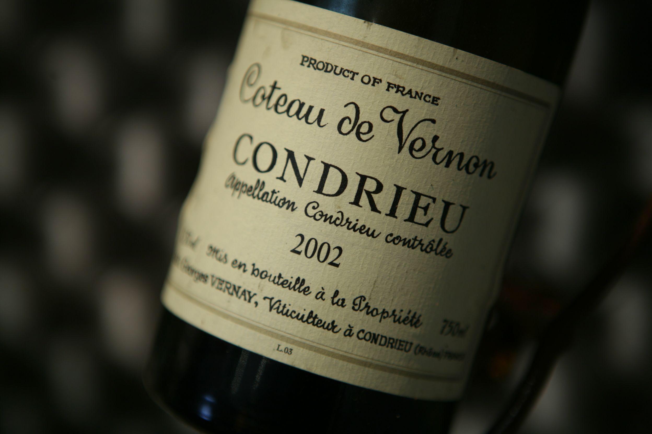 Condrieu coteau de vernon 2002 domaine georges vernay for Vin blanc sec cuisine
