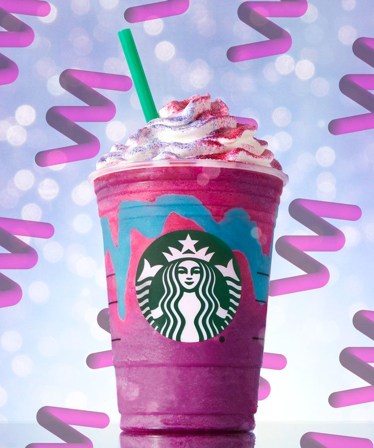 Starbucks Also Unleashed A Dragon Frappuccino Over The