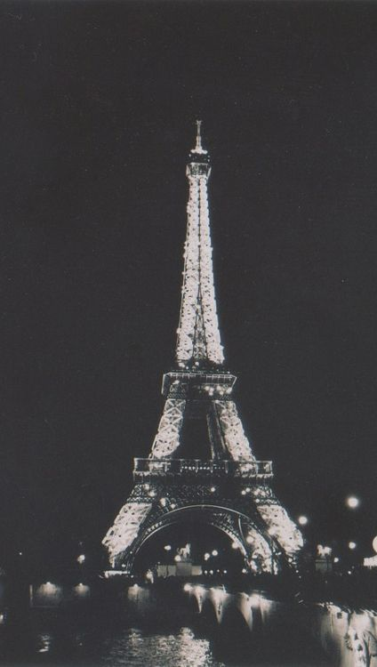 Grunge Tour Eiffel Eiffel Tower Paris Black wallpaper iphone eiffel tower