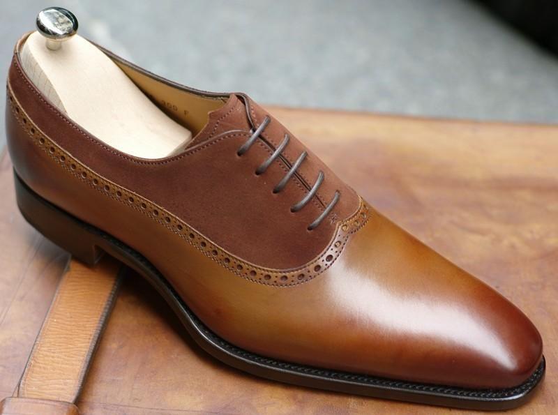 Altan Bottier Dress Shoes Men Gentleman Shoes Leather Oxford Shoes